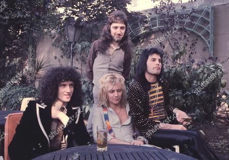 John Deacon, Roger Taylor, Freddie Mercury, Brian May
