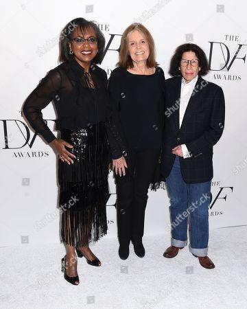 Anita Hill, Gloria Steinem, and Fran Lebowitz
