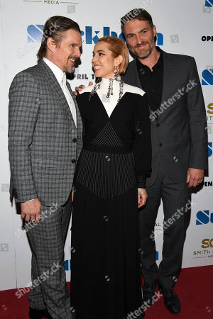 Editorial photo of 'Stockholm' film premiere, Arrivals, New York, USA - 11 Apr 2019