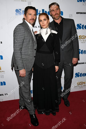 Stock Image of Ethan Hawke, Noomi Rapace and Robert Budreau