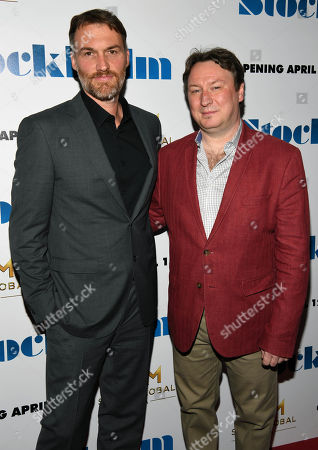 Editorial image of 'Stockholm' film premiere, Arrivals, New York, USA - 11 Apr 2019