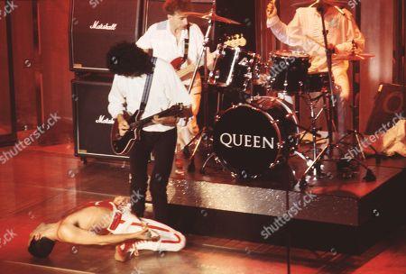 John Deacon, Brian May, Freddie Mercury