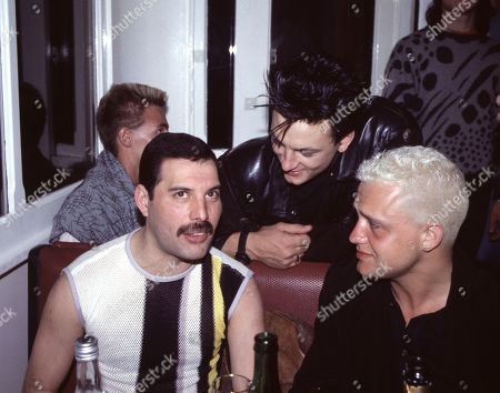 Stock Picture of Freddie Mercury, Belouis Some, Mark O'Toole