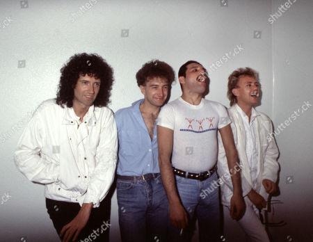 Brian May, John Deacon, Freddie Mercury, Roger Taylor