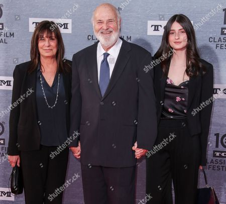 Michele Singer, Rob Reiner and Rony Reiner