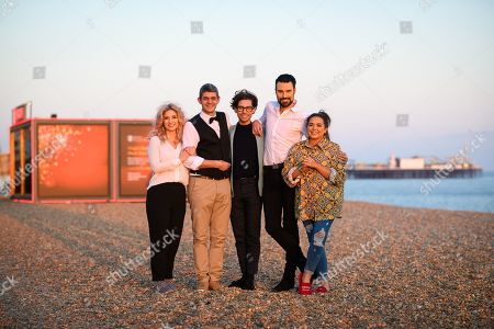 Stock Picture of CiCi Coleman, Merlin Griffiths, Tom Read Wilson, Rylan Clark Neal and Scarlett Moffatt