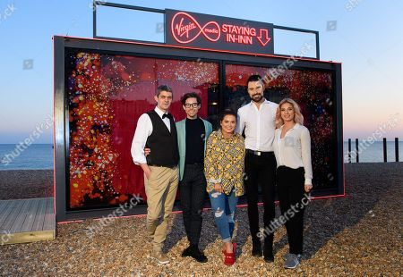 Editorial picture of 'The Virgin Media Staying In-Inn' photocall, Brighton, UK - 11 Apr 2019