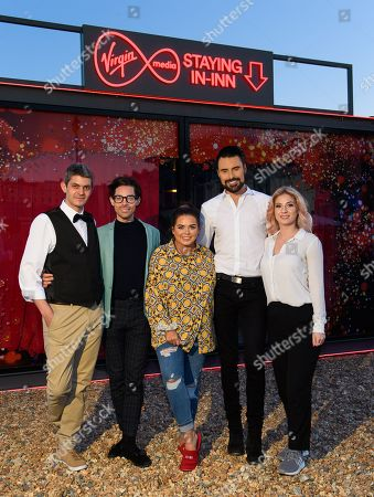 Editorial photo of 'The Virgin Media Staying In-Inn' photocall, Brighton, UK - 11 Apr 2019
