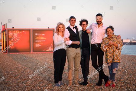 CiCi Coleman, Merlin Griffiths, Tom Read Wilson, Rylan Clark Neal and Scarlett Moffatt