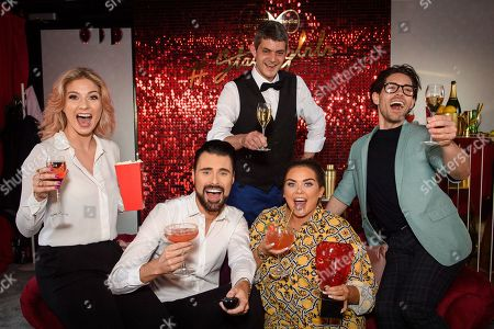 CiCi Coleman, Rylan Clark Neal, Merlin Griffiths, Scarlett Moffatt and Tom Read Wilson