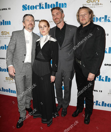 Ethan Hawke, Noomi Rapace, Robert Budreau (Writer, Director) and Ian Matthews