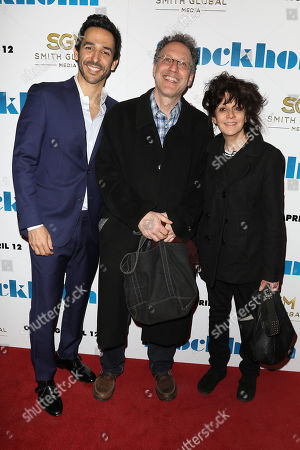 Amir Arison and Amy Heckerling