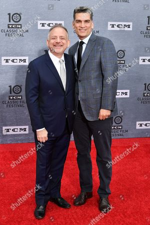 Marc Shaiman and Louis Mirabal
