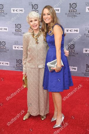 "Barbara Rush attends the 2019 TCM Classic Film Festival - Opening Night Gala - ""When Harry Met Sally"" at TCL Chinese Theatre, in Los Angeles"