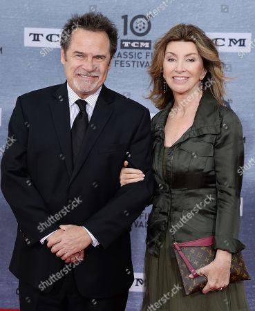 Dennis Miller and Carolyn Espley