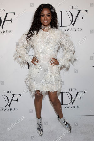 Vashtie Kola attends the 10th annual DVF Awards at the Brooklyn Museum, in New York