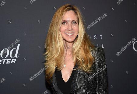 Political commentator Ann Coulter attends The Hollywood Reporter's annual Most Powerful People in Media cocktail reception at The Pool, in New York