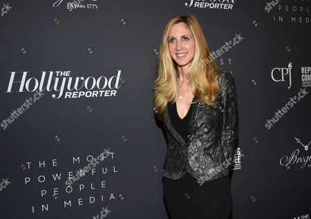 Stock Image of Political commentator Ann Coulter attends The Hollywood Reporter's annual Most Powerful People in Media cocktail reception at The Pool, in New York