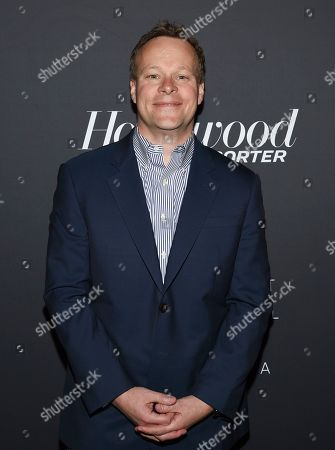 Television producer Chris Licht attends The Hollywood Reporter's annual Most Powerful People in Media cocktail reception at The Pool, in New York