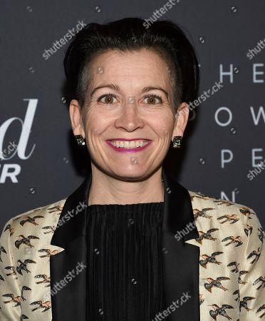 Stock Picture of Amy Emmerich attends The Hollywood Reporter's annual Most Powerful People in Media cocktail reception at The Pool, in New York