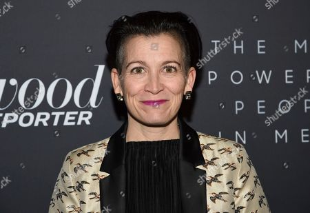 Amy Emmerich attends The Hollywood Reporter's annual Most Powerful People in Media cocktail reception at The Pool, in New York