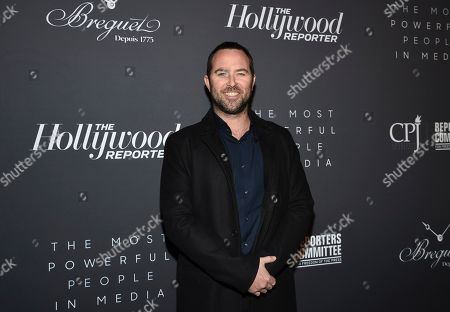 Sullivan Stapleton attends The Hollywood Reporter's annual Most Powerful People in Media cocktail reception at The Pool, in New York