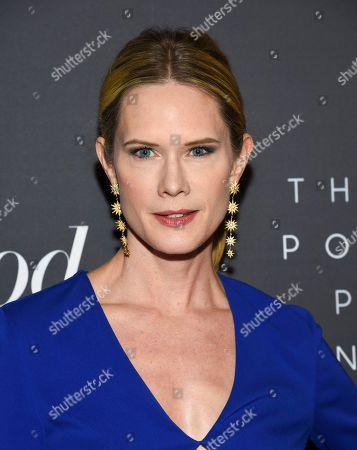 Stephanie March attends The Hollywood Reporter's annual Most Powerful People in Media cocktail reception at The Pool, in New York