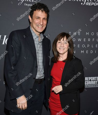 David Remnick, Jane Mayer. The New Yorker editor David Remnick, left, and staff writer Jane Mayer pose together at The Hollywood Reporter's annual Most Powerful People in Media cocktail reception at The Pool, in New York