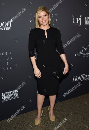 Kate Bolduan attends The Hollywood Reporter's annual Most Powerful People in Media cocktail reception at The Pool, in New York