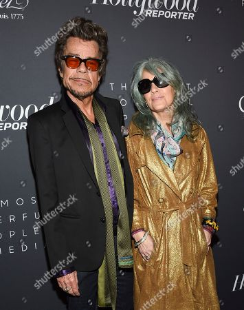 David Johansen, Mara Hennessey. Singer David Johansen and wife Mara Hennessey attend The Hollywood Reporter's annual Most Powerful People in Media cocktail reception at The Pool, in New York
