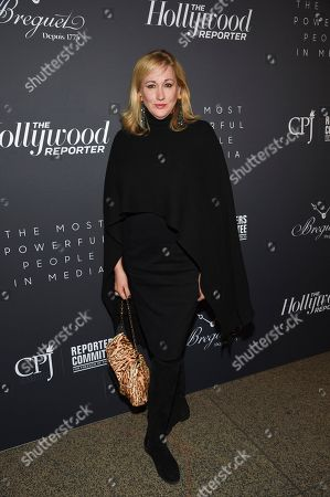 Amy Sacco attends The Hollywood Reporter's annual Most Powerful People in Media cocktail reception at The Pool, in New York