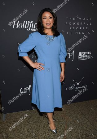 CBS news anchor Elaine Quijano attends The Hollywood Reporter's annual Most Powerful People in Media cocktail reception at The Pool, in New York