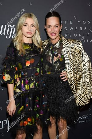 Kit Keenan, Cynthia Rowley. Fashion designer Cynthia Rowley, right, and daughter Kit Keenan attend The Hollywood Reporter's annual Most Powerful People in Media cocktail reception at The Pool, in New York