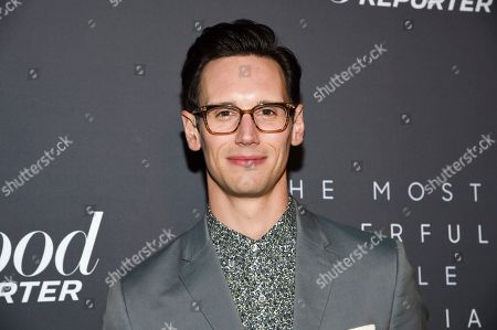 Cory Michael Smith attends The Hollywood Reporter's annual Most Powerful People in Media cocktail reception at The Pool, in New York