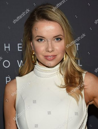 Louisa Warwick attends The Hollywood Reporter's annual Most Powerful People in Media cocktail reception at The Pool, in New York