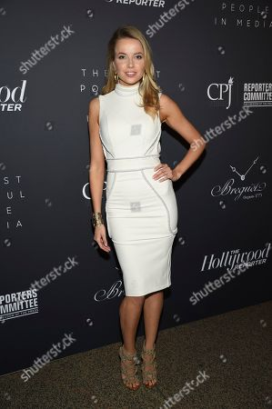 Stock Image of Louisa Warwick attends The Hollywood Reporter's annual Most Powerful People in Media cocktail reception at The Pool, in New York