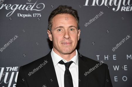 Chris Cuomo attends The Hollywood Reporter's annual Most Powerful People in Media cocktail reception at The Pool, in New York
