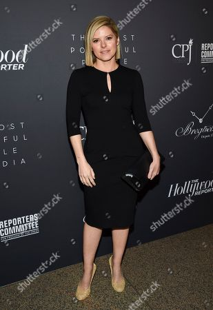 CNN news anchor Kate Bolduan attends The Hollywood Reporter's annual Most Powerful People in Media cocktail reception at The Pool, in New York