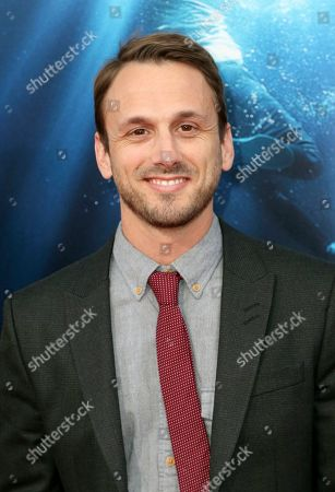 "Stock Picture of Adam McArthur arrives at the LA Premiere of ""Breakthrough"" at the Regency Village, in Los Angeles"