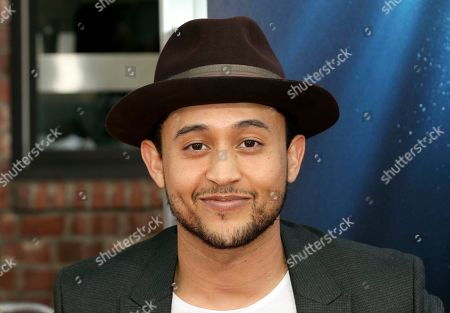 """Stock Image of Tahj Mowry arrives at the LA Premiere of """"Breakthrough"""" at the Regency Village, in Los Angeles"""