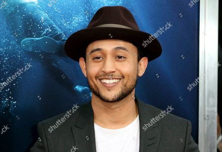 "Tahj Mowry arrives at the LA Premiere of ""Breakthrough"" at the Regency Village, in Los Angeles"
