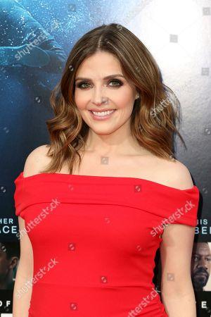 "Jen Lilley arrives at the LA Premiere of ""Breakthrough"" at the Regency Village, in Los Angeles"
