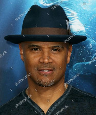 "Dondre Whitfield arrives at the LA Premiere of ""Breakthrough"" at the Regency Village, in Los Angeles"