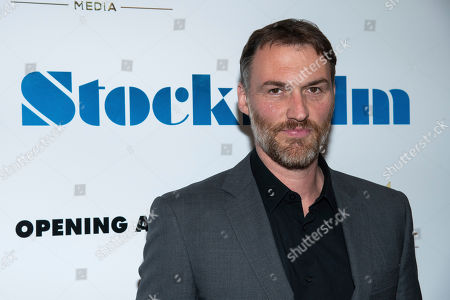 """Robert Budreau attends the premiere of """"Stockholm"""" at the Museum of Modern Art, in New York"""