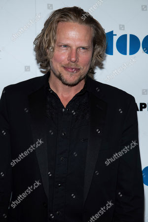 "Ian Matthews attends the premiere of ""Stockholm"" at the Museum of Modern Art, in New York"