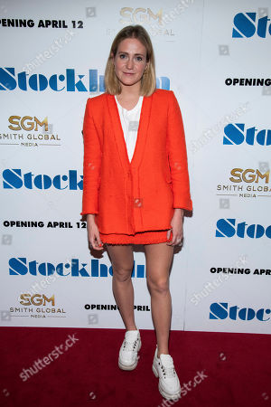 """Editorial image of NY Premiere of """"Stockholm"""", New York, USA - 11 Apr 2019"""