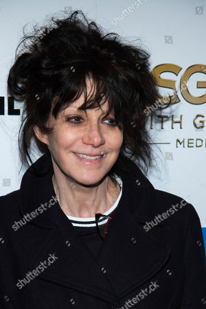 """Amy Heckerling attends the premiere of """"Stockholm"""" at the Museum of Modern Art, in New York"""