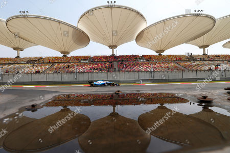 Polish Formula One driver Robert Kubica of Williams competes during the first practice session of the Chinese Formula One Grand Prix at the Shanghai International circuit in Shanghai, China, 12 April 2019. The 2019 Chinese Formula One Grand Prix will take place on 14 April.