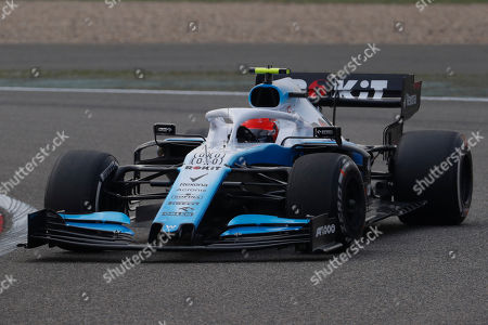 Polish Formula One driver Robert Kubica of Williams competes during the second practice session of the Chinese Formula One Grand Prix at the Shanghai International circuit in Shanghai, China, 12 April 2019. The 2019 Chinese Formula One Grand Prix will take place on 14 April.