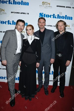 Stock Picture of Ethan Hawke, Noomi Rapace, Robert Budreau (Writer, Director) and Ian Matthews